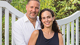Guillermo Levy, J.D. '00, and Christina Ceballos-Levy, J.D. '00
