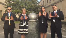 International Moot Court Team Comes in Second at Spanish-Only Moot Madrid Competition